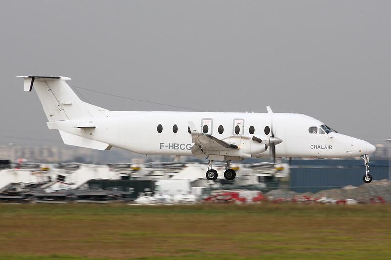 "F-HBCG Beech 1900D ""Chalair"" c/n UE-70 Paris-Orly/LFPO/ORY 02-10-14"