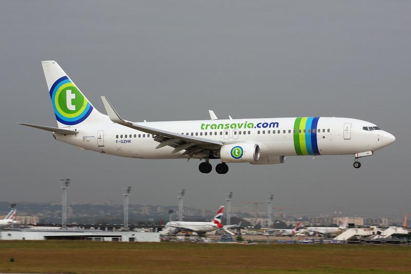 "F-GZHK Boeing 737-8K2 ""Transavia.com France"" c/n 37790 Paris-Orly/LFPO/ORY 02-10-14"