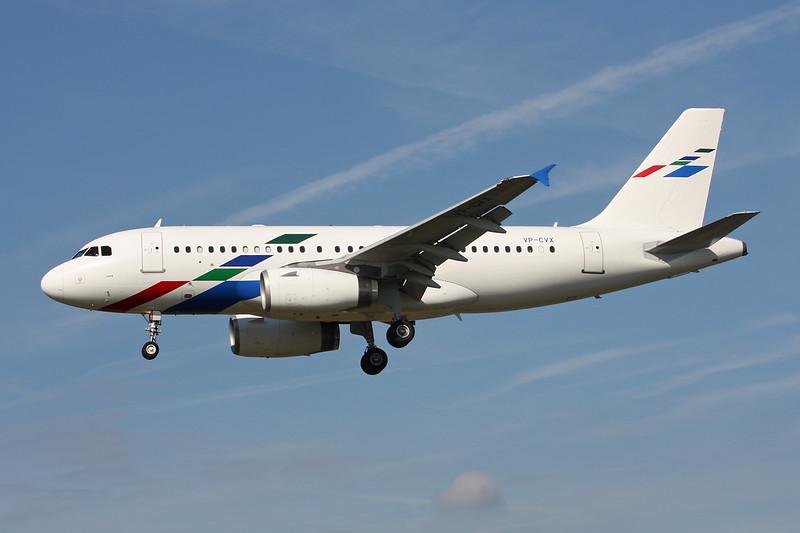 VP-CVX Airbus A319-133X c/n 1212 Paris-Le Bourget/LFPB/LBG 01-10-14
