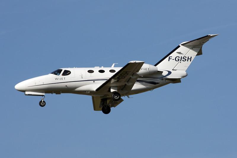 F-GISH Cessna 510 Citation Mustang c/n 510-0182 Paris-Le Bourget/LFPB/LBG 01-10-14