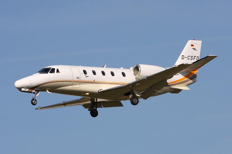 D-CSFD Cessna 560 Citation Excel c/n 560-5022 Paris-Le Bourget/LFPB/LBG 01-10-14