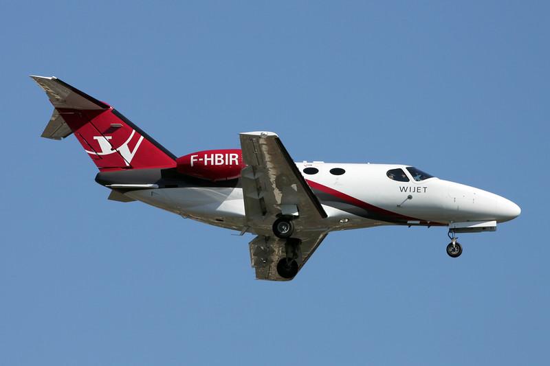 F-HBIR Cessna 510 Citation Mustang c/n 510-0252 Paris-Le Bourget/LFPB/LBG 10-06-15