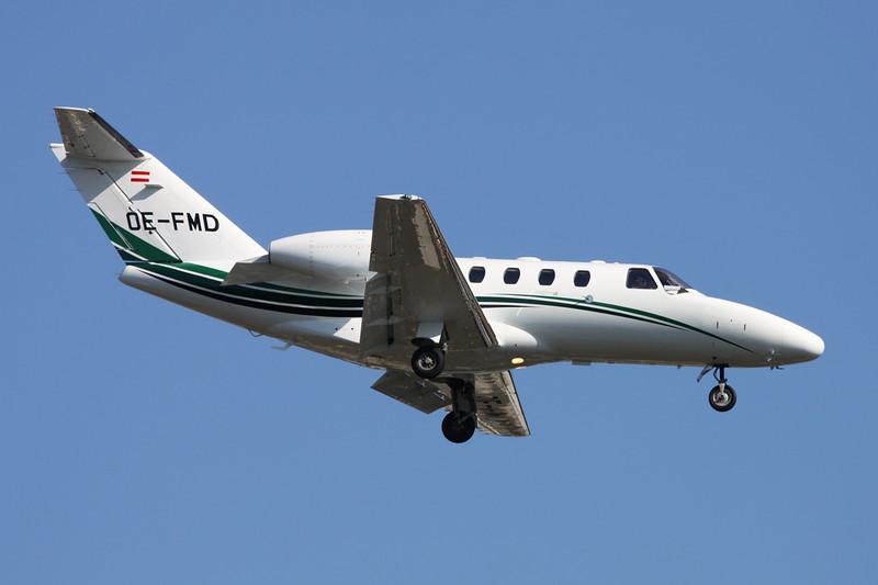 OE-FMD Cessna 525 Citation Jet 1+ c/n 525-0614 Paris-Le Bourget/LFPB/LBG 10-06-15