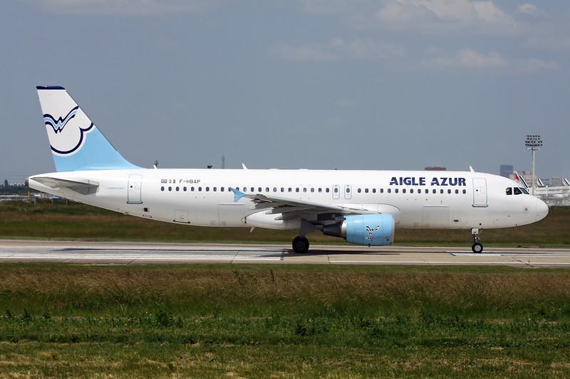"""F-HBAP Airbus A320-214 """"Aigle Azur"""" c/n 4675 Paris-Orly/LFPO/ORY 09-06-15"""