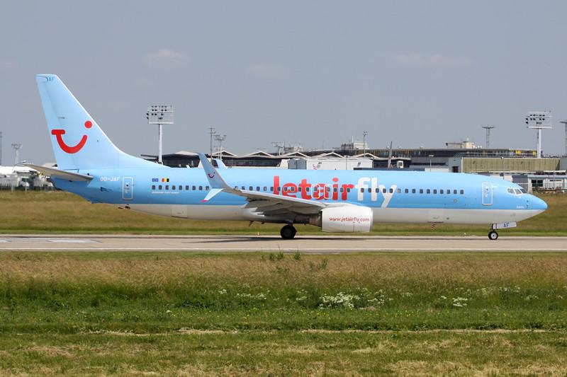 OO-JAF Boeing 737-8K5 c/n 35133 Paris-Orly/LFPO/ORY 09-06-15