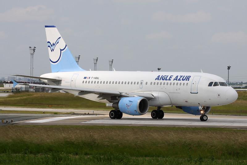 """F-HBAL Airbus A319-111 """"Aigle Azur"""" c/n 2870 Paris-Orly/LFPO/ORY 09-06-15"""