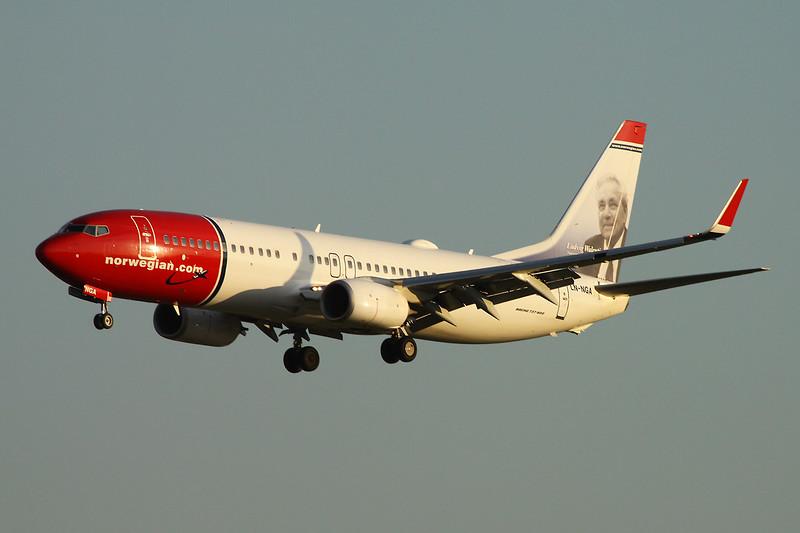 """LN-NGA Boeing 737-8JP c/n 39014 Paris-Orly/LFPO/ORY 08-06-15 """"Ludvig Walentin Karlsen"""""""