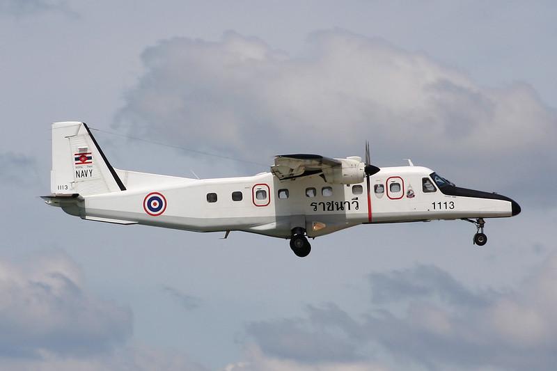 """1113 Dornier Do.228-212 """"Royal Thai Navy"""" c/n 8227 Phuket/VTSP/HKT 25-11-16"""