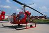 I-VFED (VF-01) Agusta-Bell 47G-2 c/n 176 Pratica di Mare/LIRE 24-05-98 (35mm slide)