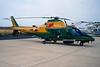 """MM81369 (GF-136) Agusta A-109A-2 """"Guardia di Finanzia"""" c/n 7420 Pratica di Mare/LIRE 24-05-98 (35mm slide)"""