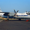 "04 black Antonov An-30B ""Russian Air Force"" c/n 0704 Fairford/EGVA/FFD 25-07-99 (35mm slide)"