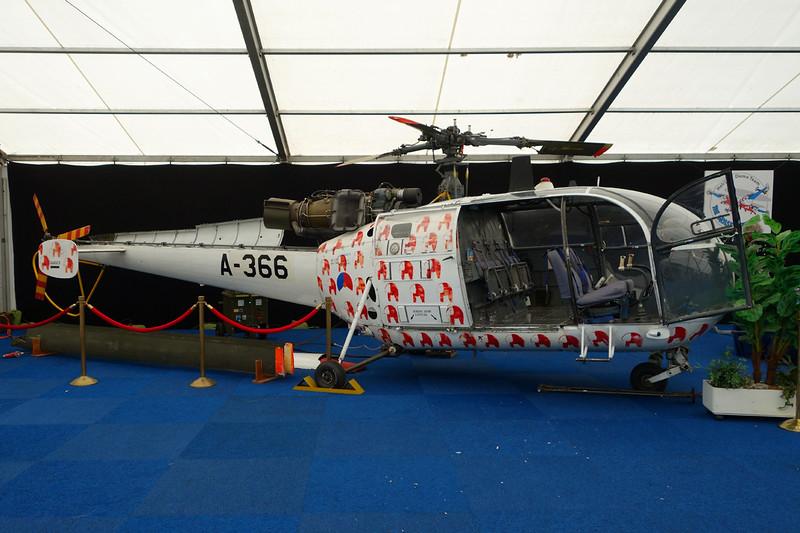 "A-366 Sud Aviation SE.3160 Alouette III ""Royal Netherlands Air Force"" c/n 1366 Gilze-Rijen/EHGR 20-06-14"