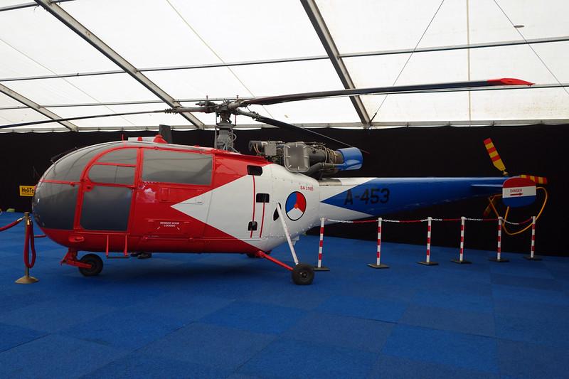 A-391 (A-453) Sud Aviation SE.3160 Alouette III c/n 1391 Gilze-Rijen/EHGR 20-06-14