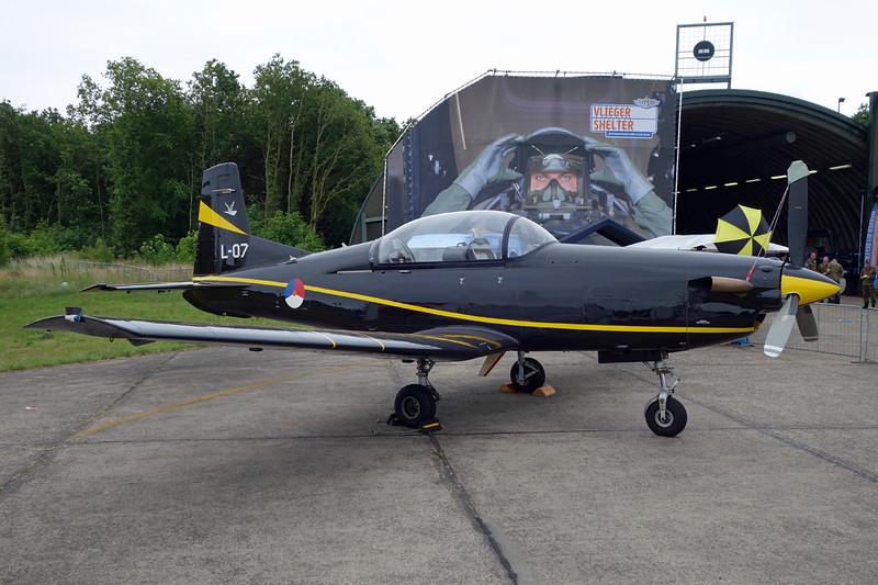 "L-07 Pilatus PC-7 ""Royal Netherlands Air Force"" c/n 544 Gilze-Rijen/EHGR 20-06-14"