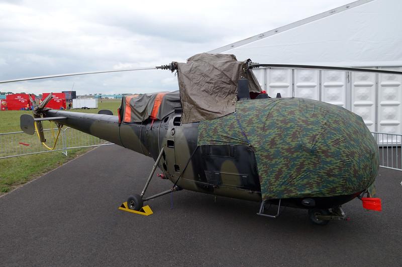 "A-253 Sud Aviation SE.3160 Alouette III ""Royal Netherlands Air Force"" c/n 1253 Gilze-Rijen/EHGR 20-06-14"