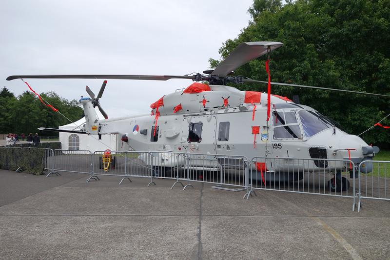 "N-195 NH Industries NH-90 NFH ""Royal Netherlands Air Force"" c/n 1195 Gilze-Rijen/EHGR 20-06-14"