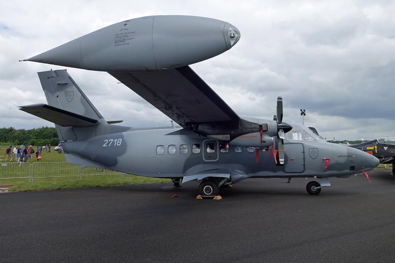 "2718 LET L-410 UVP-E20 ""Slovak Air Force"" c/n 092718 Gilze-Rijen/EHGR 20-06-14"