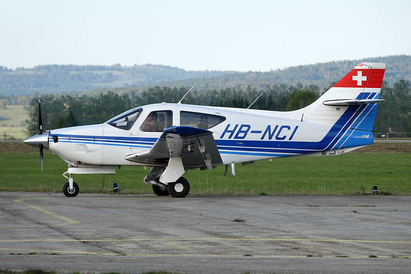 HB-NCI Rockwell Commander 114 c/n 14208 Pontarlier/LFSP 21-09-19