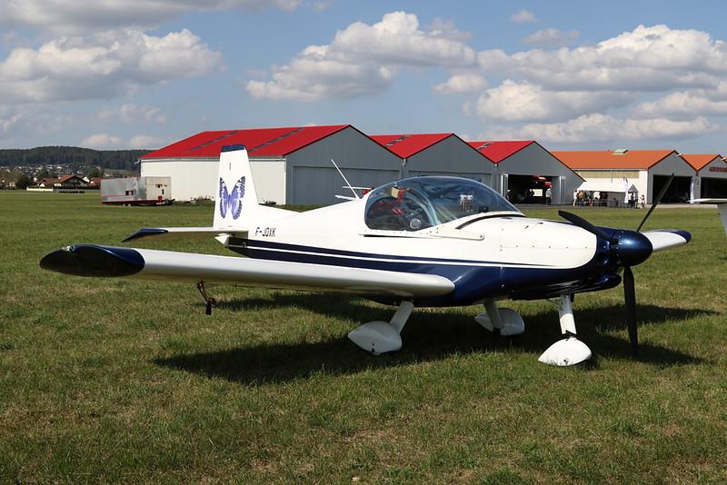 78-AQN (F-JDXK) Alpi Pioneer 200 c/n unknown Pontarlier/LFSP 21-09-19