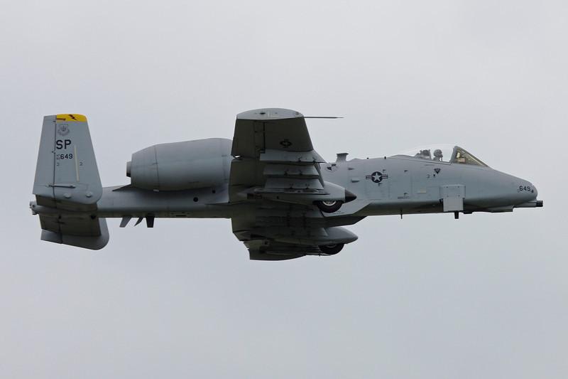 """82-0649 Fairchild A-10A Thunderbolt II """"United States Air Force"""" c/n 697 Spangdahlem/ETAD/SPM 30-07-11"""