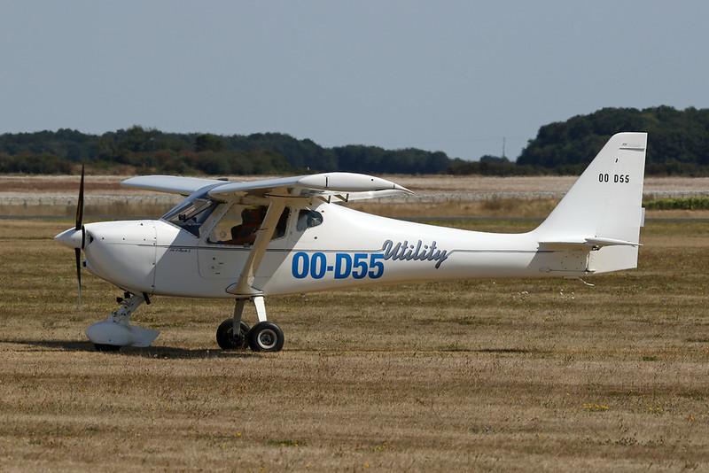 OO-D55 B & F Technik Funk Fk.9 Mk.III c/n 150 Blois/LFOQ/XBQ 02-09-18