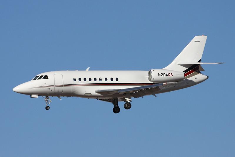 N204QS Dassault Falcon 2000 c/n 104 Phoenix-Sky Harbor/KPHX/PHX 17-11-16
