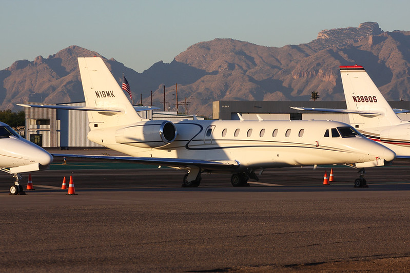 N19MK Cessna 680 Citation Sovereign c/n 680-0304 Tucson IAP/KTUS/TUS 14-11-16