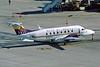 """N132YV Beech 1900D """"Mesa Airlines"""" c/n UE-132 Phoenix-Sky Harbor/KPHX/PHX 15-03-04 (35mm slide)"""