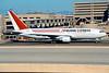 """N709AX Boeing 767-231(BDSF) """"Airborne Express"""" c/n 22572 Phoenix-Sky Harbor/KPHX 14-03-04 (35mm slide)"""