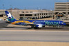 "N915AW Boeing 757-225 c/n 22209 Phoenix-Sky Harbour/KPHX/PHX 13-03-04 ""Nevada - Battle Born"" (35mm slide)"