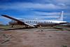 """N6000V Douglas DC-7C """"T&G Aviation"""" c/n 45542 Chandler-Memorial 13-03-04 (35mm slide)"""