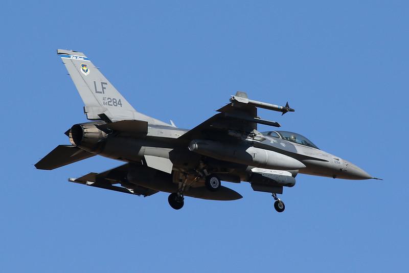 """84-1284 (LF) General Dynamics F-16C Fighting Falcon """"United States Air Force"""" c/n 5C-121 Luke/KLUF/LUF 31-01-18"""