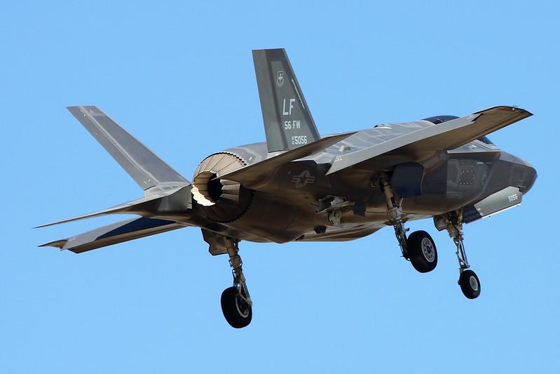 """12-5056 (LF) Lockheed Martin F-35A Lightning II """"United States Air Force"""" c/n AF-67 Luke/KLUF/LUF 15-11-16"""