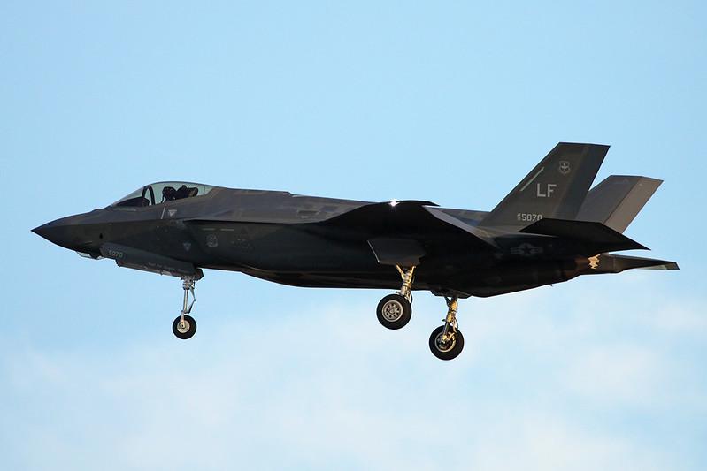 """13-5070 (LF) Lockheed Martin F-35A Lightning II """"United States Air Force"""" c/n AF-76 Luke/KLUF/LUF 15-11-16"""