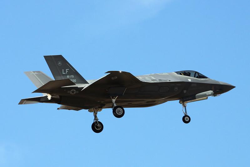 """11-5030 Lockheed Martin F-35A Lightning II """"United States Air Force"""" c/n AF-41 Luke/KLUF/LUF 15-11-16"""
