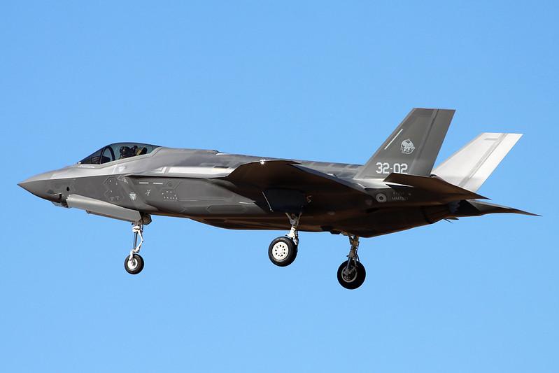 """MM7333 (32-02) Lockheed Martin F-35A Lightning II """"Italian Air Force"""" c/n AL-2 Luke/KLUF/LUF 17-11-16"""