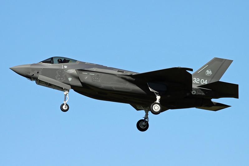 """MM7335 (32-04) Lockheed Martin F-35A Lightning II """"Italian Air Force"""" c/n AL-4 Luke/KLUF/LUF 17-11-16"""