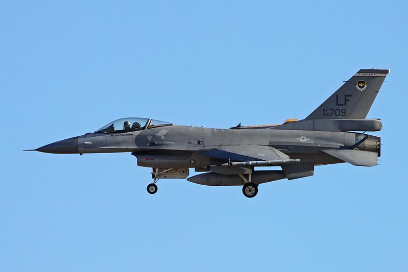 "93-0709 (LF) General Dynamics F-16A Fighting Falcon ""Republic of China Air Force"" c/n TA-8 Luke/KLUF/LUF 15-11-16"