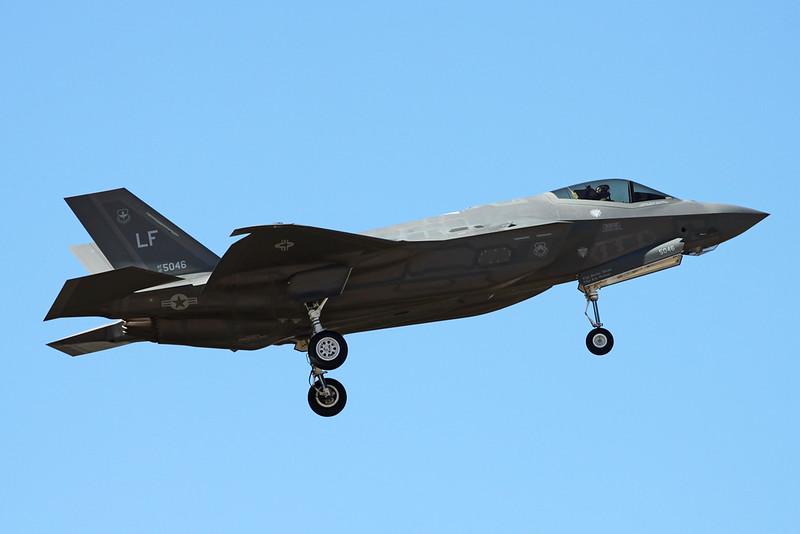"""12-5046 (LF) Lockheed Martin F-35A Lightning II """"United States Air Force"""" c/n 57 Luke/KLUF/LUF 17-11-16"""