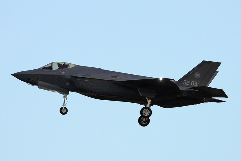 """MM7334 (32-03) Lockheed Martin F-35A Lightning II """"Italian Air Force"""" c/n AL-3 Luke/KLUF/LUF 15-11-16"""