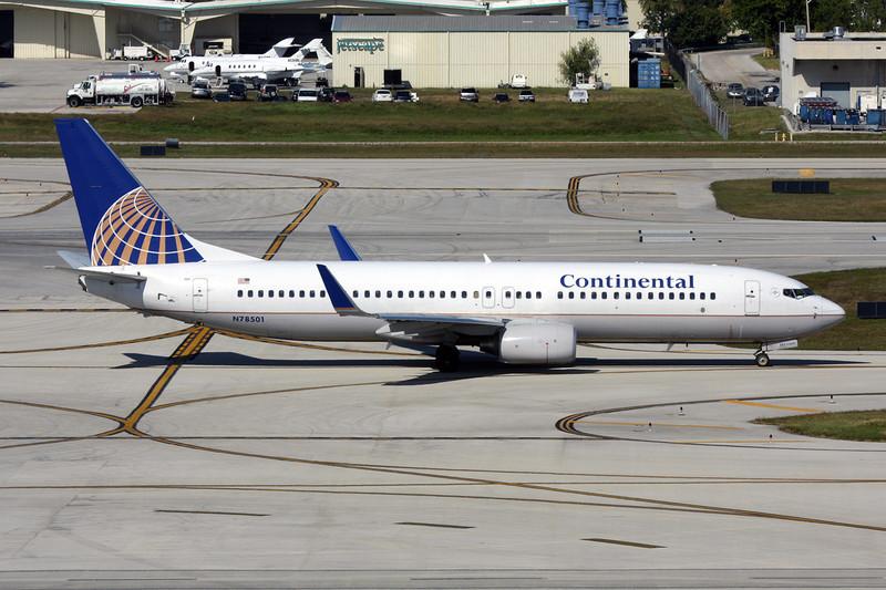 N78501 Boeing 737-824 c/n 31602 Fort Lauderdale-International/KFLL/FLL 02-12-08