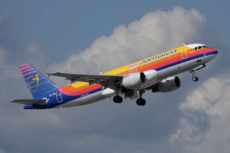 6Y-JMI Airbus A320-214 c/n 1747 Fort Lauderdale - International/KFLL/FLL 06-12-08