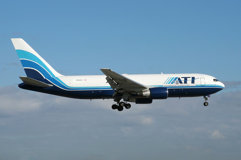 "N761CX Boeing 767-223F ""Air Transport International"" c/n 22318 Miami/KMIA/MIA 04-12-08"
