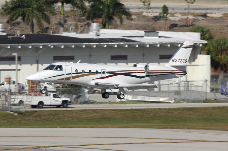 N272CB IAI Gulfstream G150 c/n 262 Fort Lauderdale-International/KFLL/FLL 06-12-08