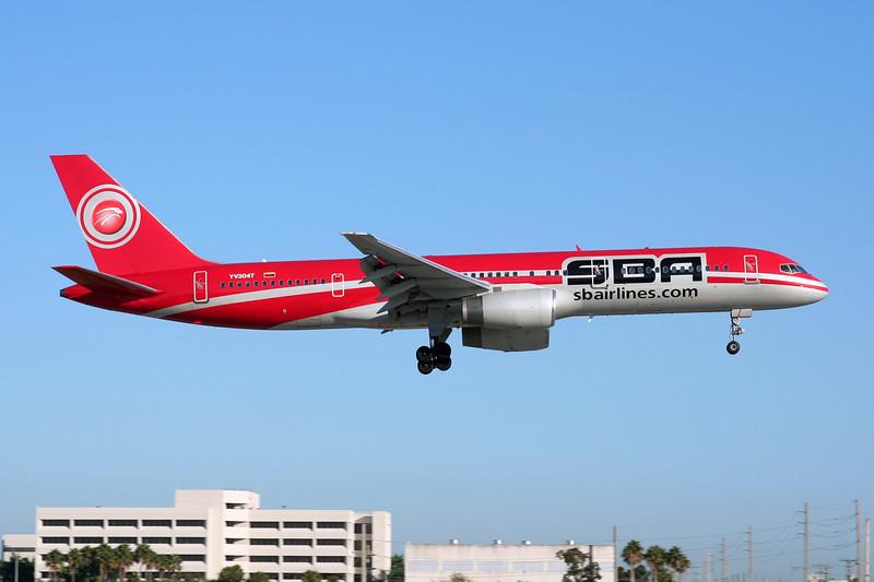 """YV-304T Boeing 757-21B """"SBA Airlines"""" c/n 24714 Miami/KMIA/MIA 05-12-08"""