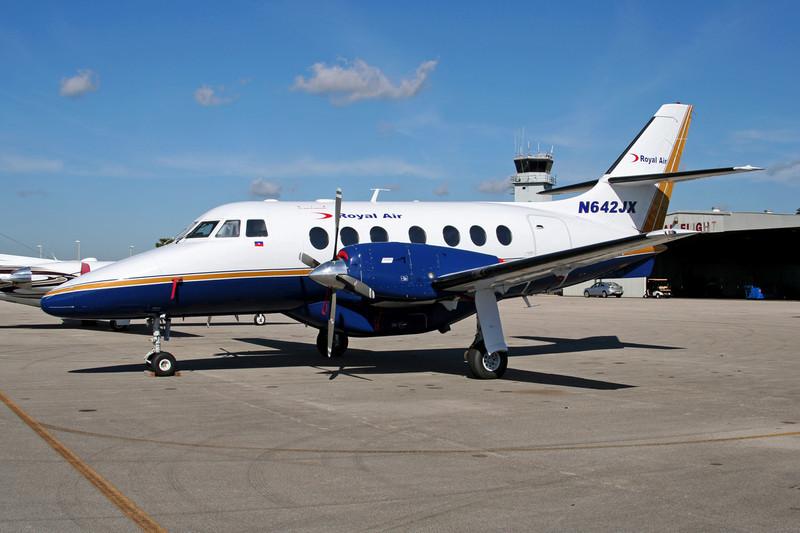 "N642JX BAe Jetstream 31-01 ""Royal Air"" c/n 642 Tamiami/KTMB/TMB 05-12-08"