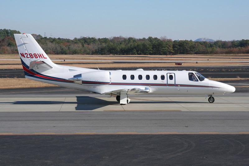 N288HL Cessna 560 Citation Encore c/n 560-0599 DeKalb-Peachtree/KPDK/PDK 07-12-08