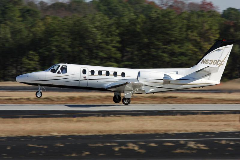 N630CC Cessna 550 Citation II c/n 550-0130 DeKalb-Peachtree/KPDK/PDK 07-12-08