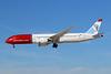 """LN-LNL Boeing 787-9 c/n 37931 Las Vegas-McCarran/KLAS/LAS 05-02-18 """"Kirsten Flagstad"""""""