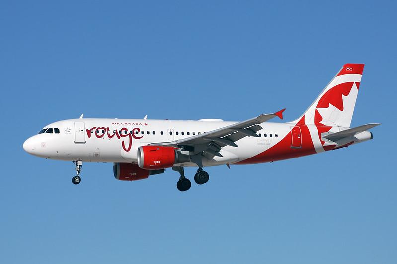 C-FYIY Airbus A319-113 c/n 0634 Las Vegas-McCarran/KLAS/LAS 13-11-16